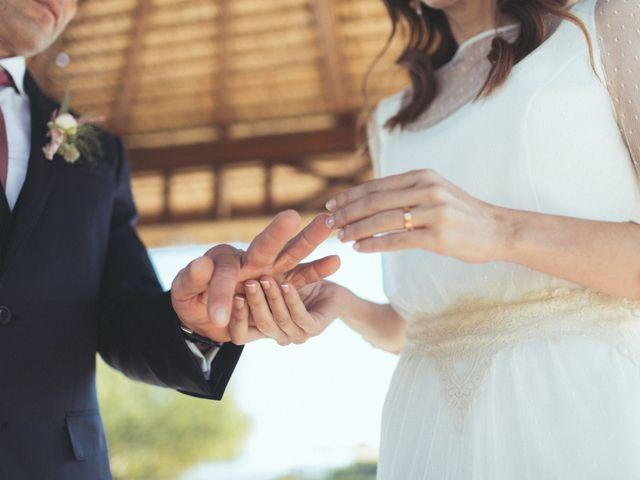 La boda de Ismael y Isabel en L' Ènova, Valencia 100
