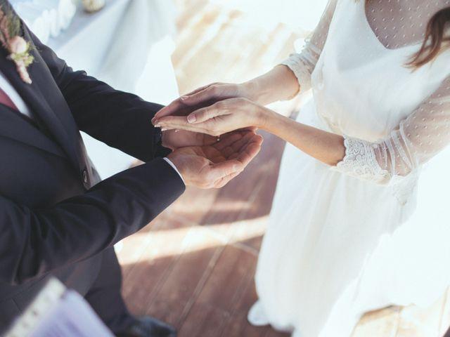 La boda de Ismael y Isabel en L' Ènova, Valencia 102