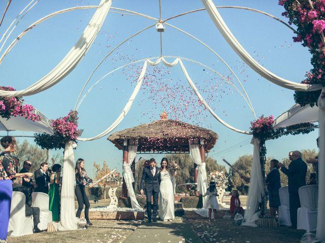 La boda de Ismael y Isabel en L' Ènova, Valencia 107