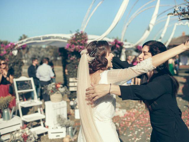 La boda de Ismael y Isabel en L' Ènova, Valencia 111