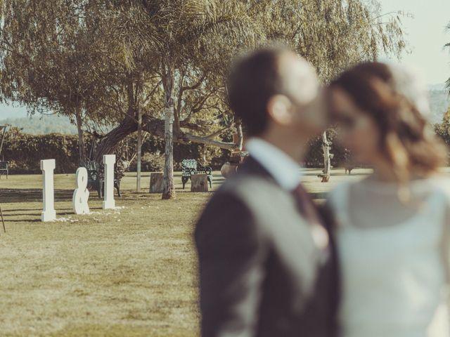 La boda de Ismael y Isabel en L' Ènova, Valencia 128