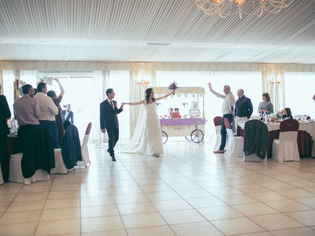 La boda de Ismael y Isabel en L' Ènova, Valencia 138