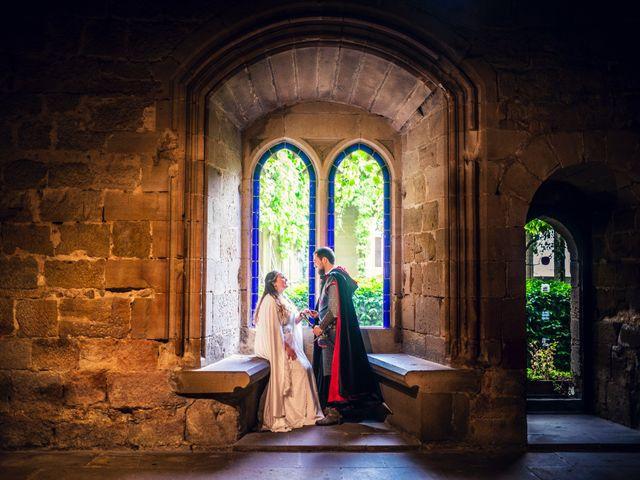 La boda de Carlos y María en Torrecaballeros, Segovia 3