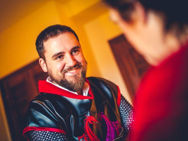 La boda de Carlos y María en Torrecaballeros, Segovia 13