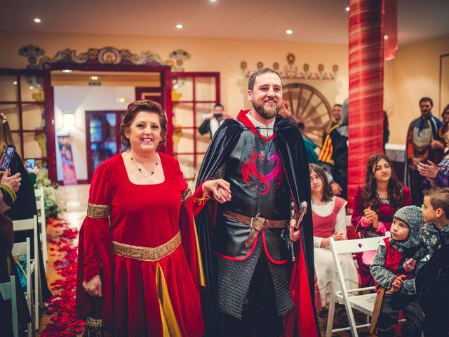 La boda de Carlos y María en Torrecaballeros, Segovia 50
