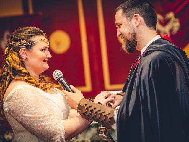 La boda de Carlos y María en Torrecaballeros, Segovia 61