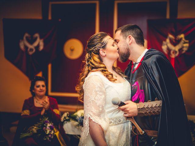 La boda de Carlos y María en Torrecaballeros, Segovia 62