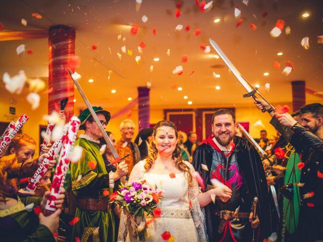 La boda de Carlos y María en Torrecaballeros, Segovia 63