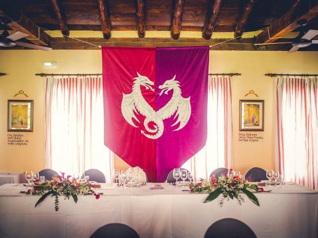 La boda de Carlos y María en Torrecaballeros, Segovia 65