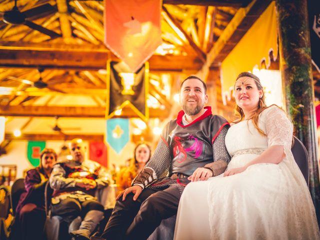 La boda de Carlos y María en Torrecaballeros, Segovia 76