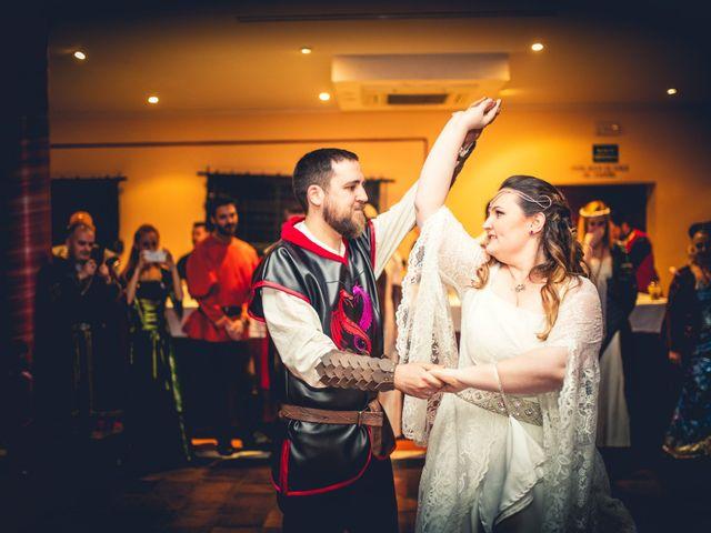 La boda de Carlos y María en Torrecaballeros, Segovia 86