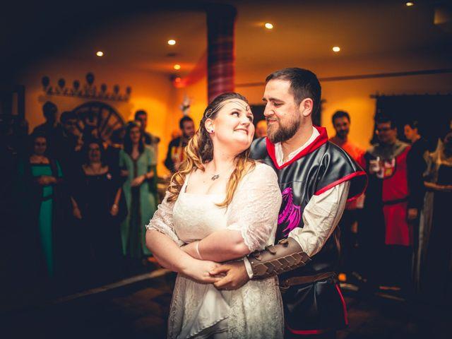 La boda de Carlos y María en Torrecaballeros, Segovia 87