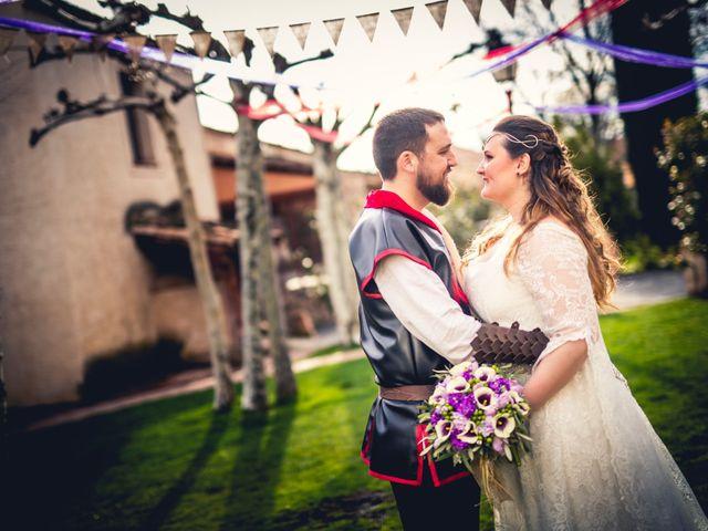 La boda de Carlos y María en Torrecaballeros, Segovia 97