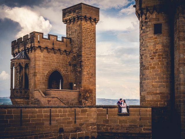 La boda de Carlos y María en Torrecaballeros, Segovia 106