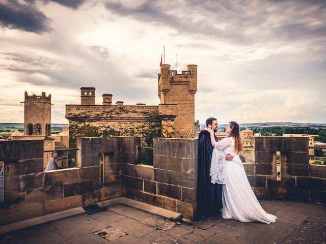 La boda de Carlos y María en Torrecaballeros, Segovia 109