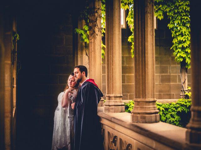 La boda de Carlos y María en Torrecaballeros, Segovia 110