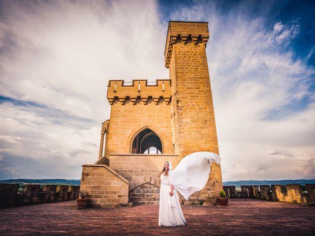 La boda de Carlos y María en Torrecaballeros, Segovia 114