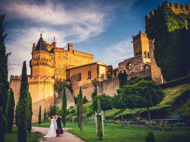 La boda de Carlos y María en Torrecaballeros, Segovia 115
