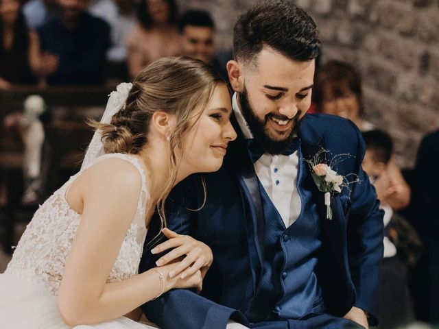 La boda de Adrián  y Belen en Palau De Plegamans, Barcelona 4