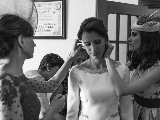 La boda de Jesús y María Teresa en San Clemente, Cuenca 11