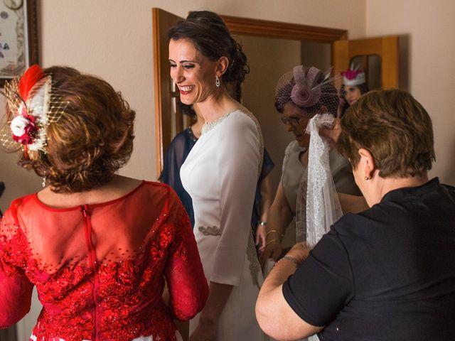 La boda de Jesús y María Teresa en San Clemente, Cuenca 12