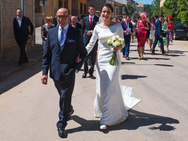 La boda de Jesús y María Teresa en San Clemente, Cuenca 13