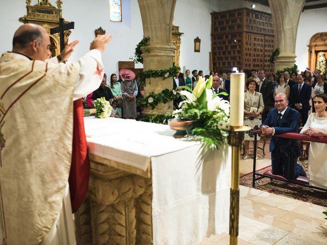 La boda de Jesús y María Teresa en San Clemente, Cuenca 21