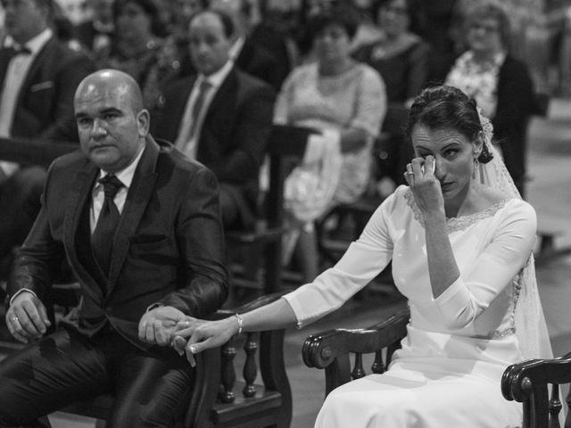 La boda de Jesús y María Teresa en San Clemente, Cuenca 25