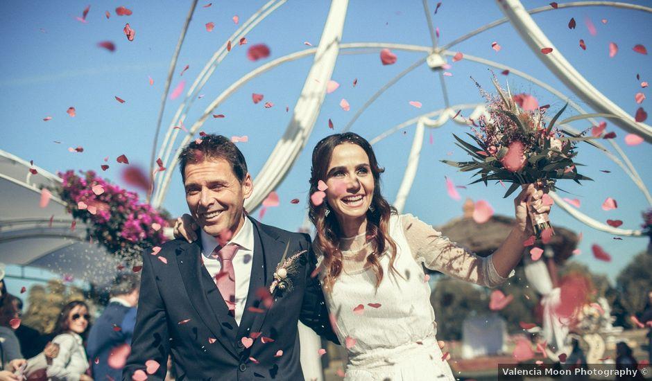 La boda de Ismael y Isabel en L' Ènova, Valencia