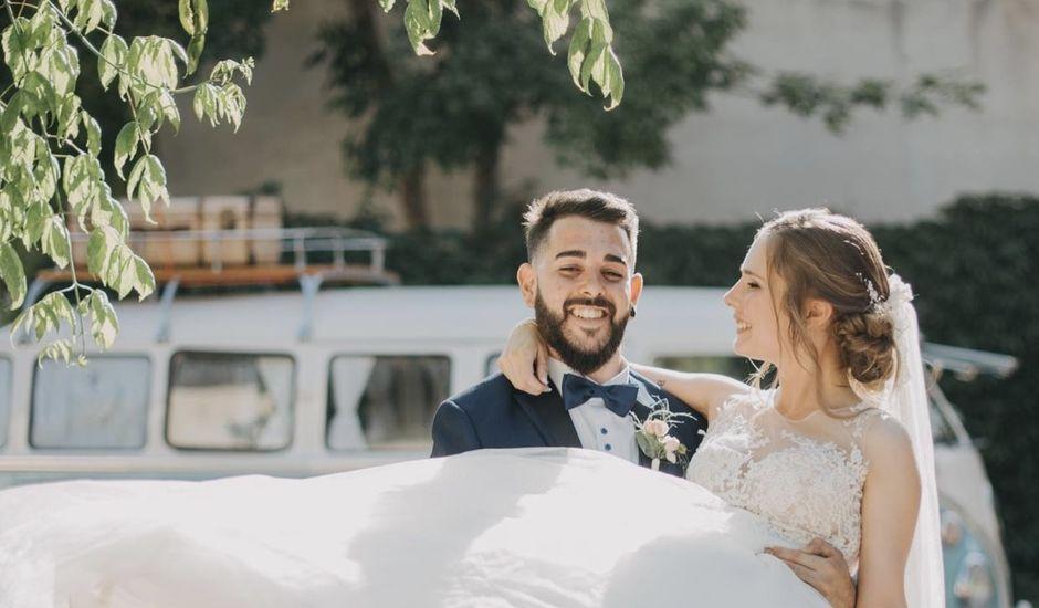 La boda de Adrián  y Belen en Palau De Plegamans, Barcelona