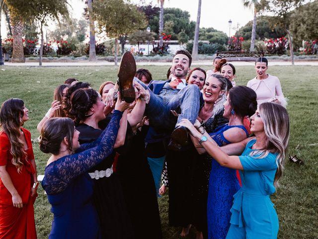 La boda de Alberto y Cinta en Palos De La Frontera, Huelva 96