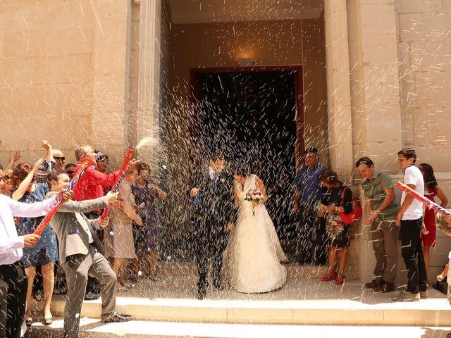 La boda de Juan Alberto y Marta en Sax, Alicante 1