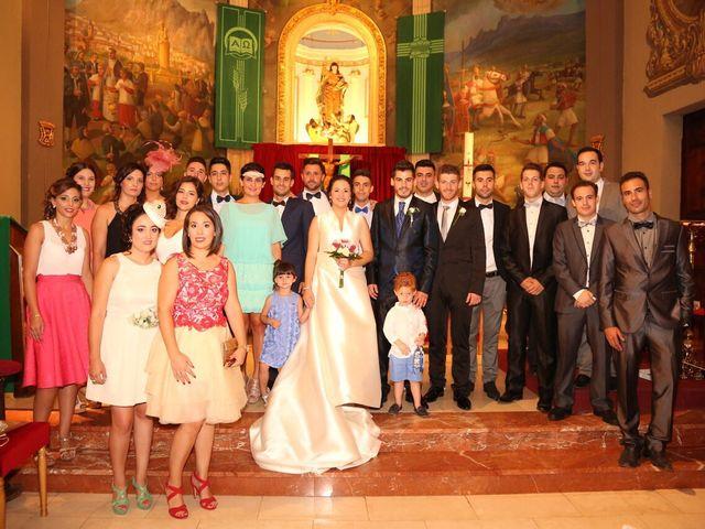 La boda de Juan Alberto y Marta en Sax, Alicante 6