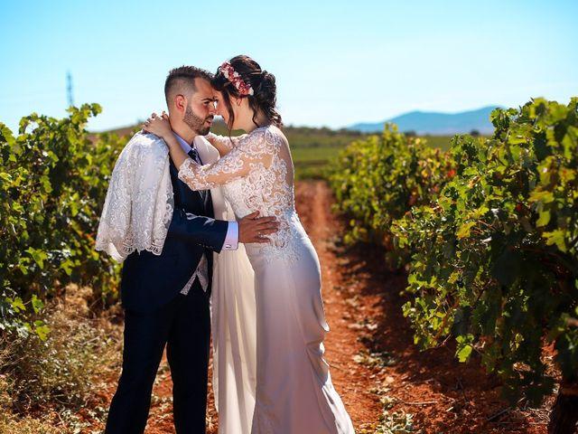La boda de Fernando y Alicia en Cariñena, Zaragoza 1