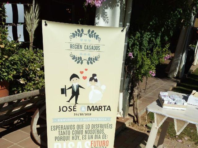 La boda de Jose  y Marta en Sanlucar La Mayor, Sevilla 5