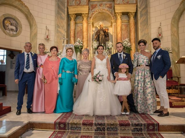 La boda de Ángel y Rocío en Coin, Málaga 32
