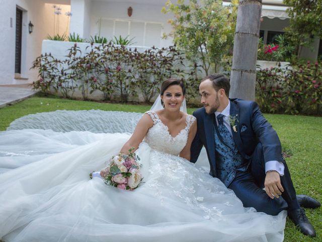 La boda de Ángel y Rocío en Coin, Málaga 1