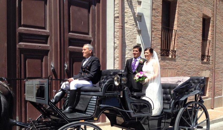 La boda de David y Noelia en Tarazona, Zaragoza