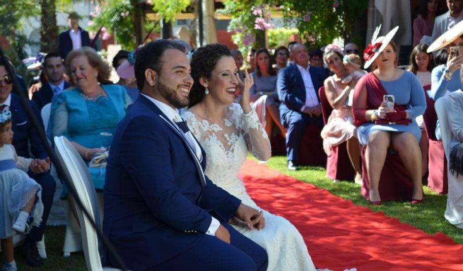 La boda de Jose  y Marta en Sanlucar La Mayor, Sevilla
