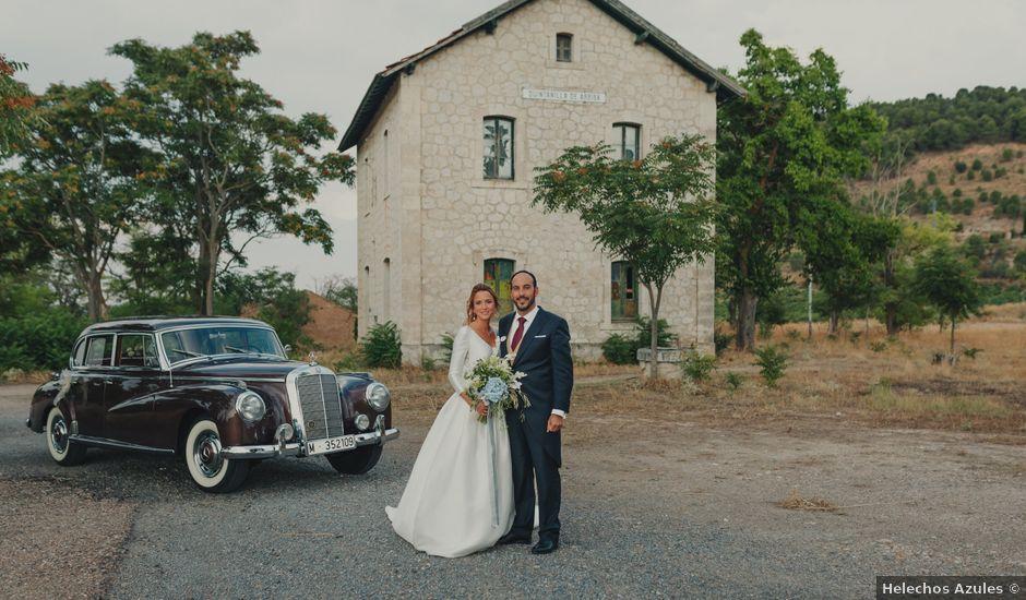 La boda de Juan y Raquel en Castrillo De Duero, Valladolid