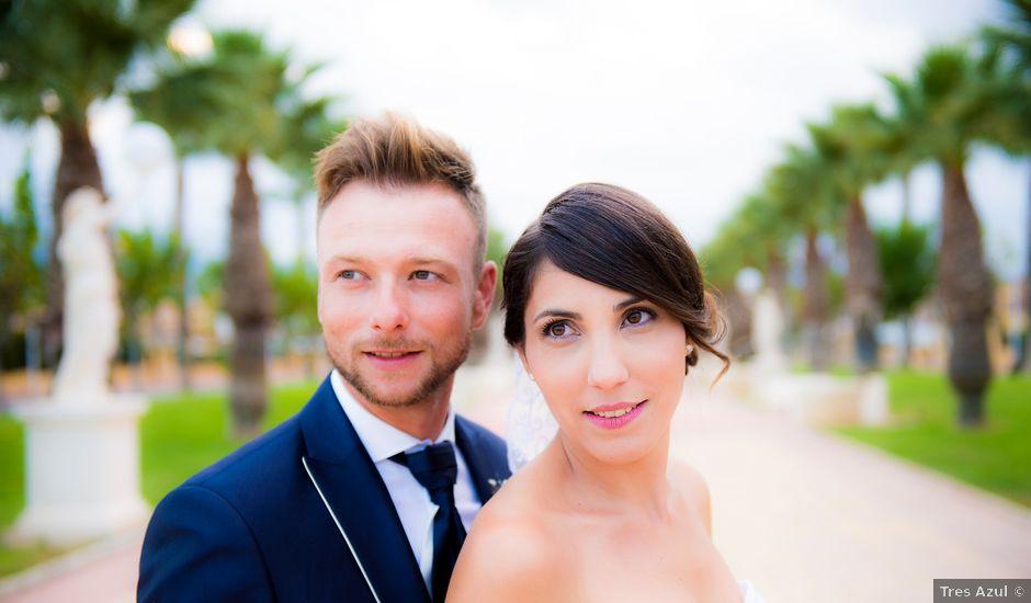 La boda de Jesus y Nani en Mazarron, Murcia