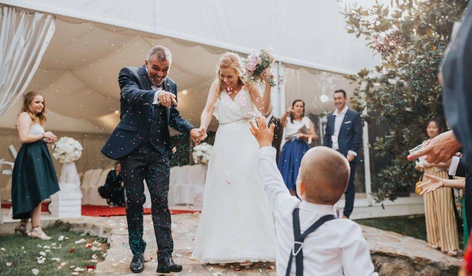 La boda de Alberto y Bea en Redondela, Pontevedra