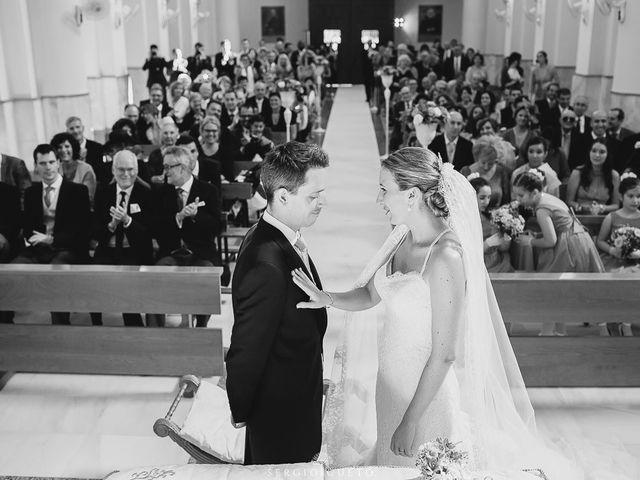 La boda de Romain y María en Retamar, Almería 20