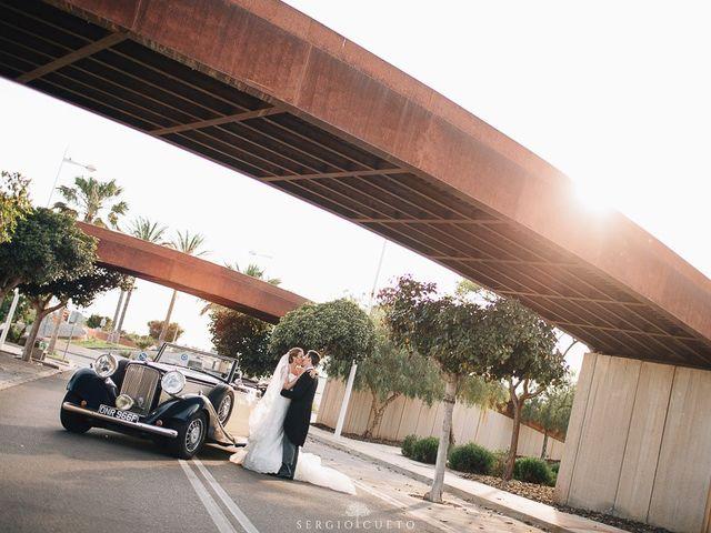 La boda de Romain y María en Retamar, Almería 22