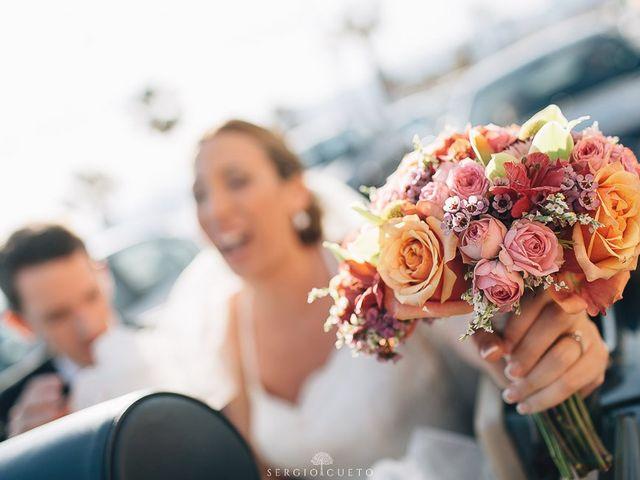 La boda de Romain y María en Retamar, Almería 23