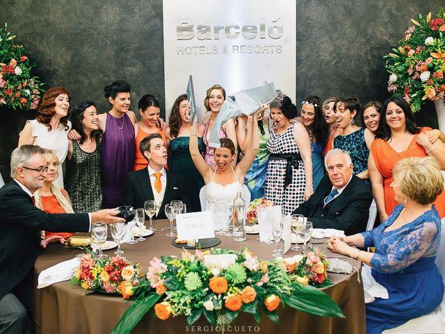 La boda de Romain y María en Retamar, Almería 30