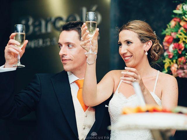 La boda de Romain y María en Retamar, Almería 32