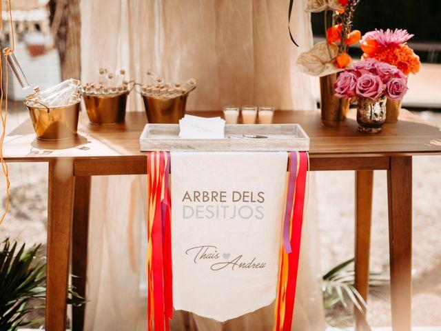 La boda de Andreu y Thais en Deltebre, Tarragona 96