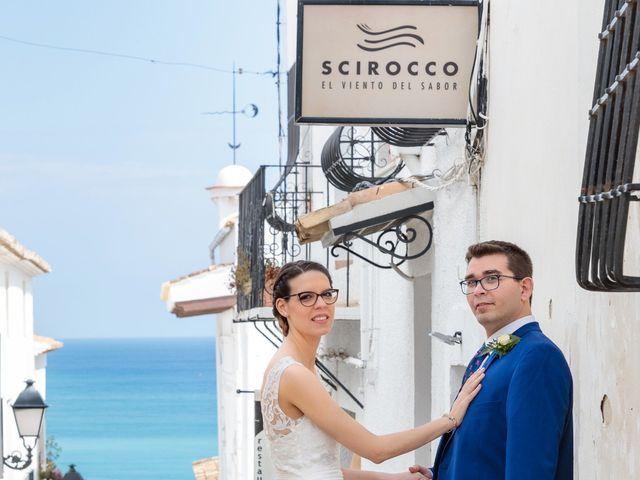 La boda de Pedro y Maria en Altea, Alicante 9