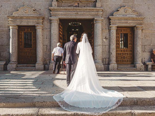 La boda de Nacho y Marta en El Tiemblo, Ávila 54